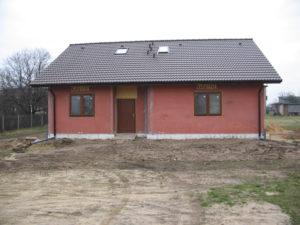 Justyna i jej keramzytowy dom