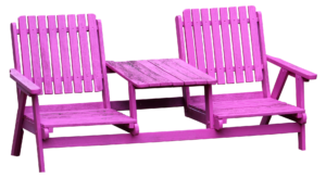 fotele e stolikiem