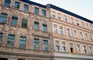 Odnawiane budynki