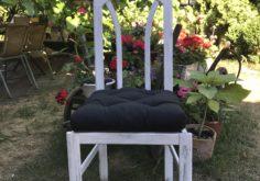 Krzesło przecierane